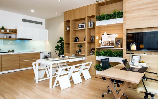 Mebel kayu industri untuk ruang tamu umum