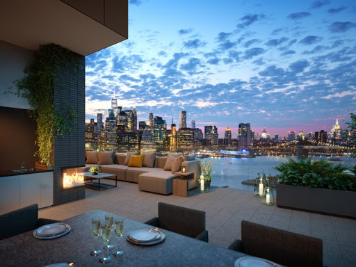 What is a penthouses apartment?