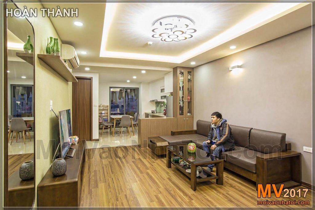 Completed furniture of apartments in Vinh Hung