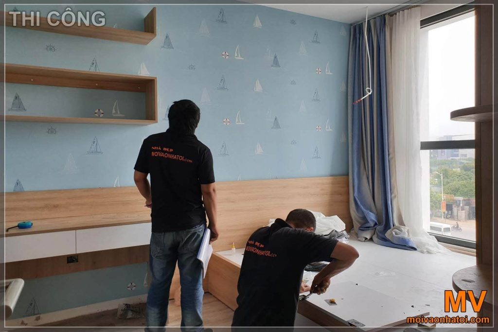 Installing Northern Diamond bedroom apartment furniture
