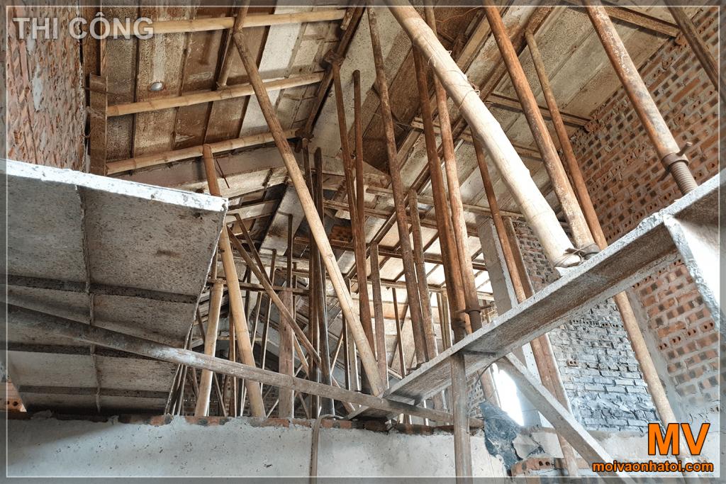 hệ thống giàn giáo gỗ
