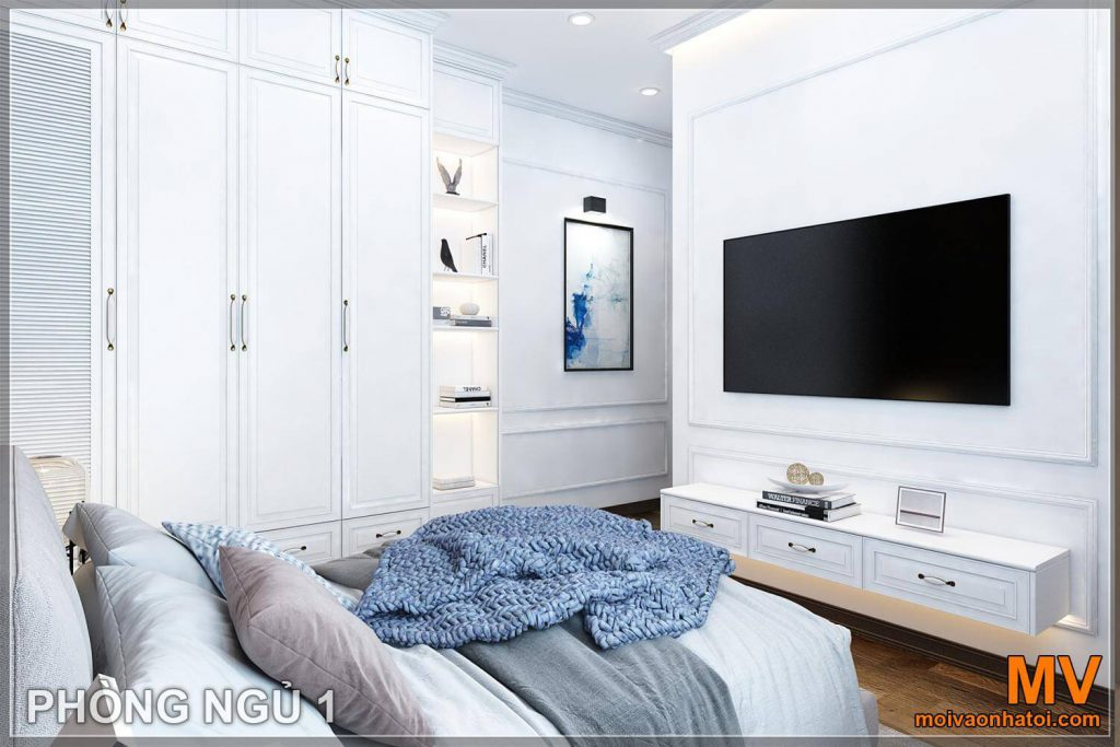 white cardboard bedroom furniture