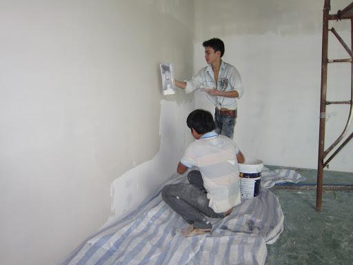 Abdichtung von Wänden