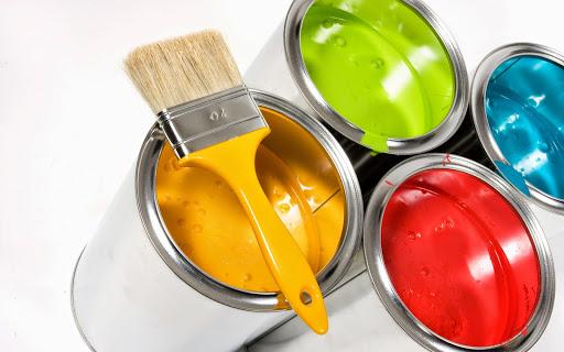 Wählen Sie Farben für die Malerei zu Hause