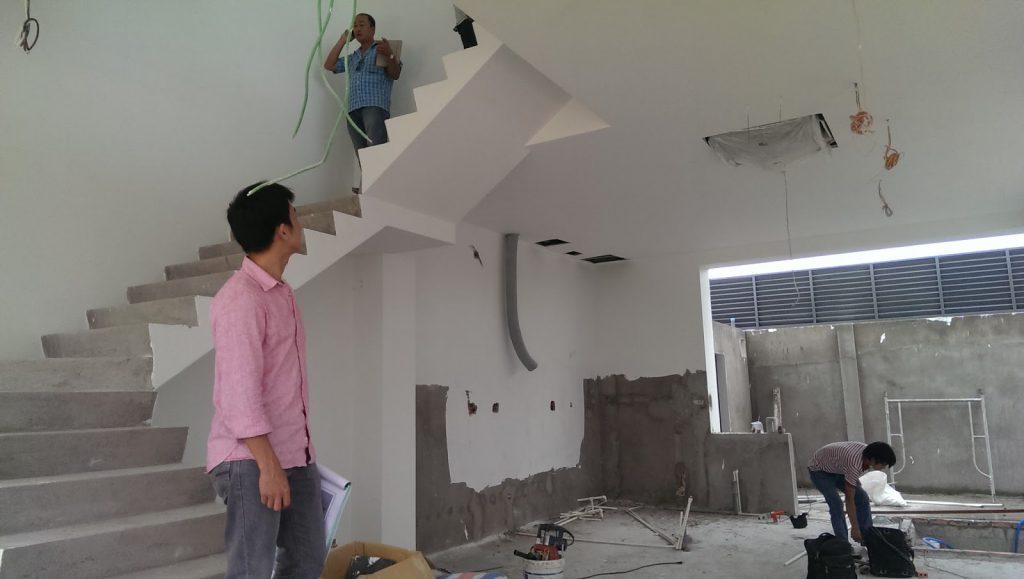 kroky k dokončení projektu