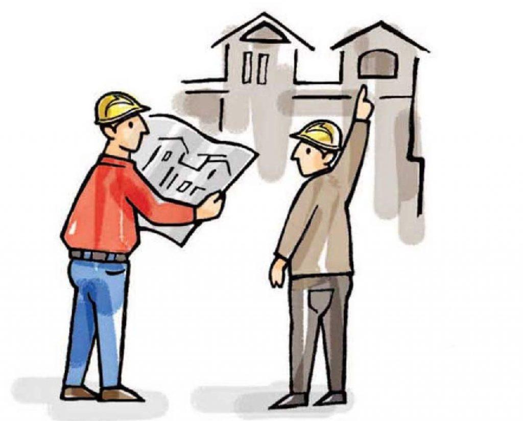 kontrola a přejímka po výstavbě domů