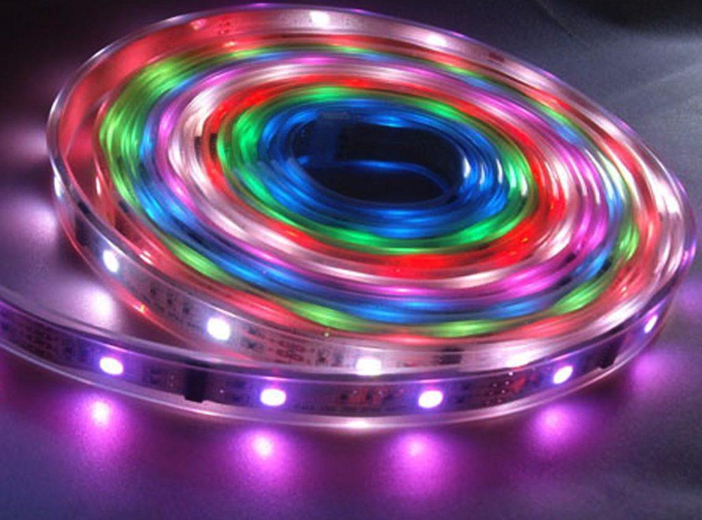 Fil multicolore LED