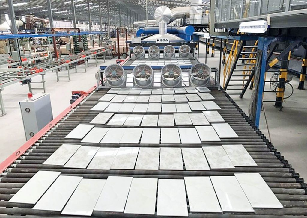 granite tile manufacturing process