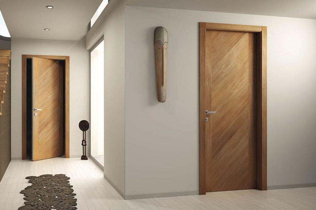 деревянная дверь hdf