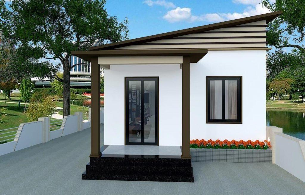 Casa modelo moderna nível 4