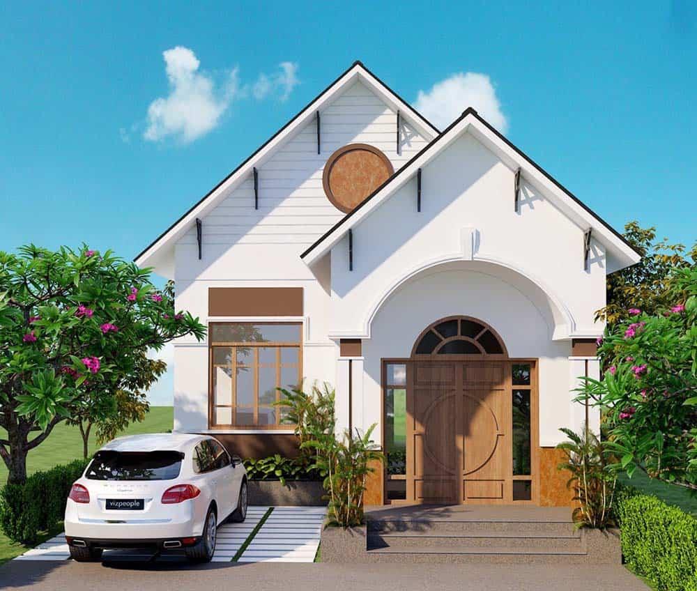 O que é a casa de telhado tailandesa