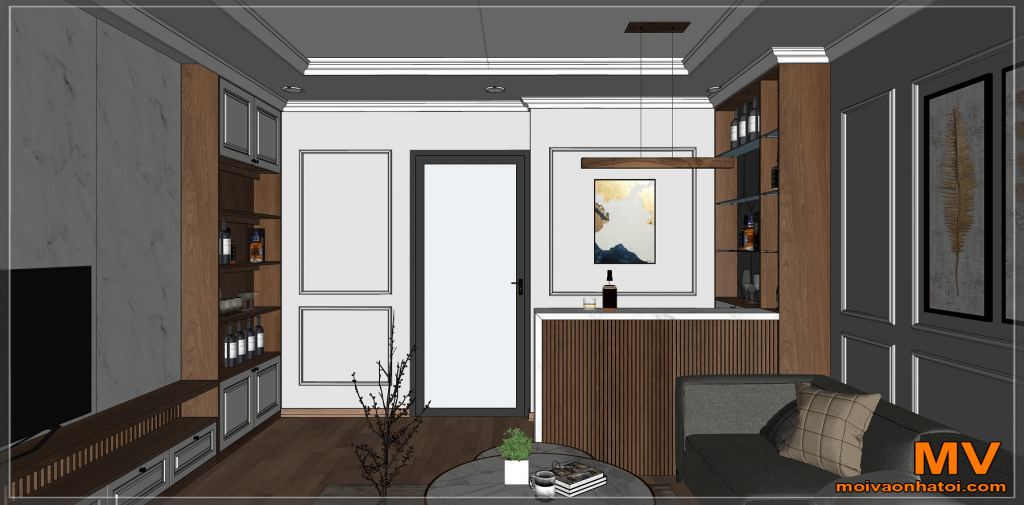 新古典主义酒吧室内设计