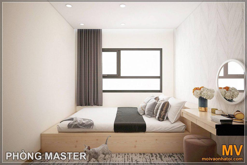 मास्टर बेडरूम इंटीरियर डिजाइन
