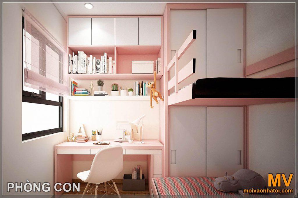 आंतरिक डिजाइन बाल बेडरूम महासागर पार्क अपार्टमेंट
