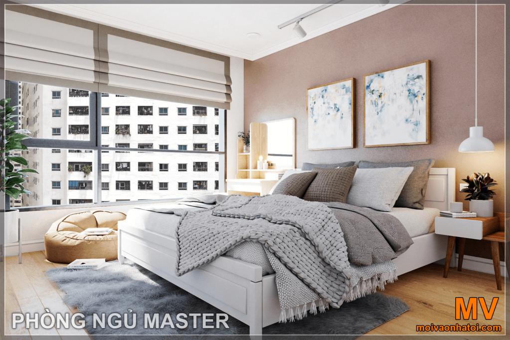 Design d'intérieur chambre principale appartement parkhill 5