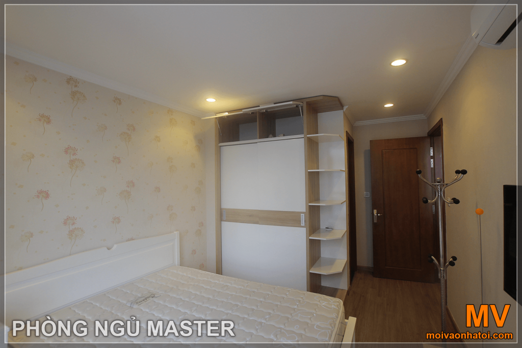 nội thất phòng ngủ master căn hộ parkhill 5