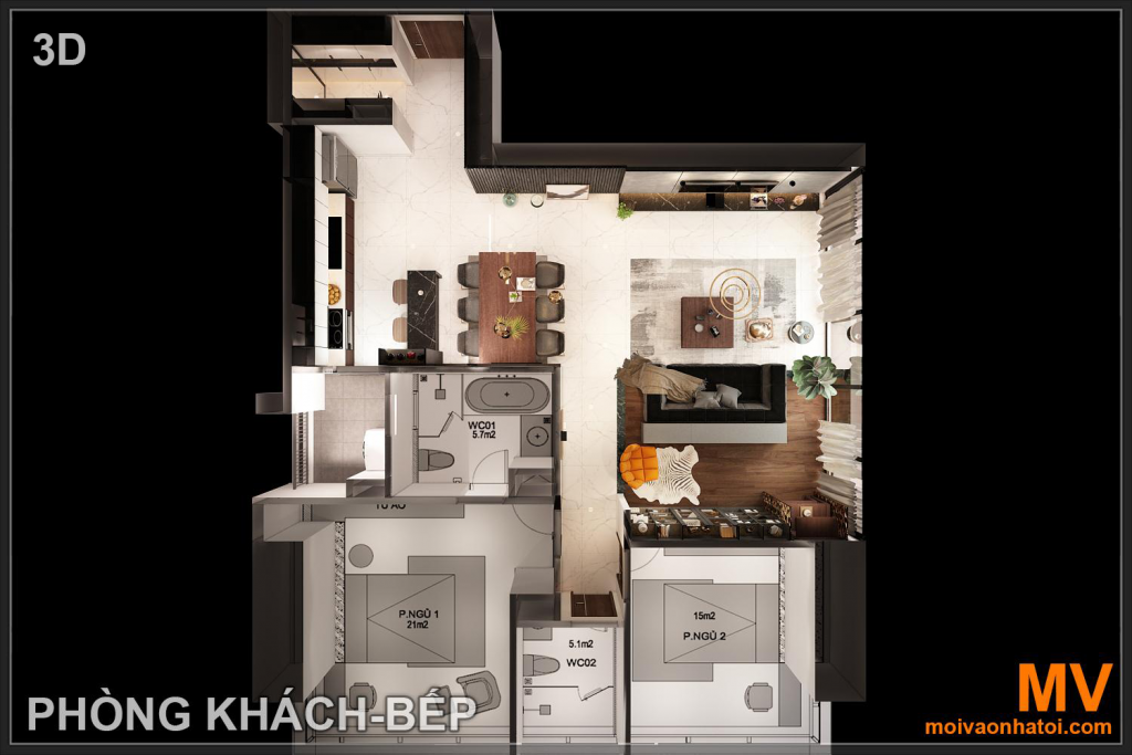 Design the overall ground of Sunshine City apartment