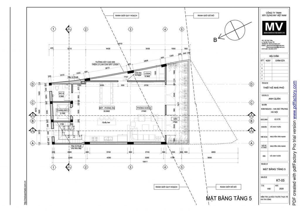 5th floor design drawings of high-rise buildings