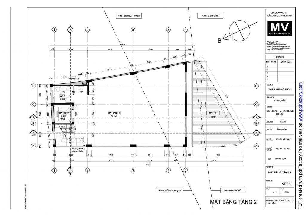 Design drawings of the 2nd floor of a high-rise building