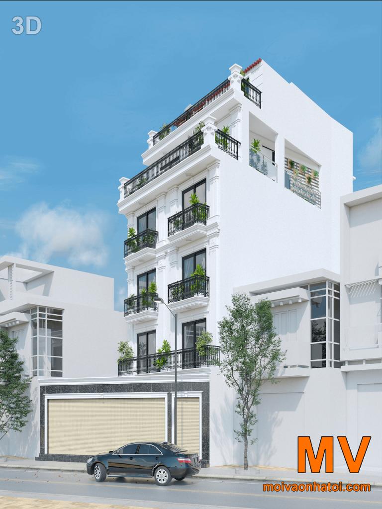 3d design high rise city building