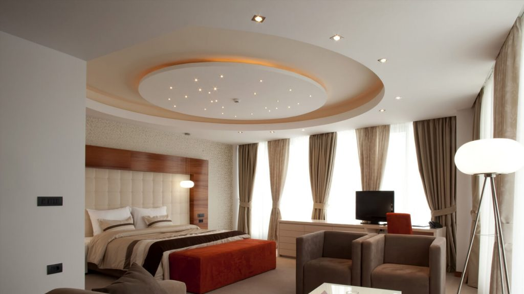 What is plaster ceiling