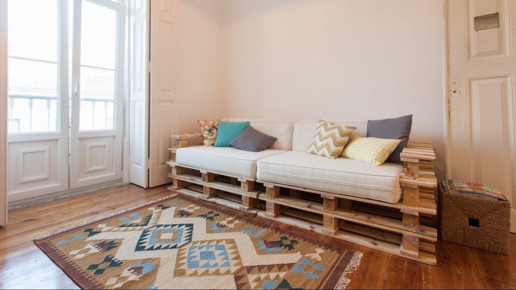 nội thất bohemian đơn giản