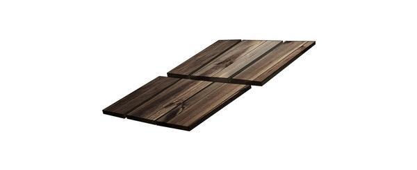 mái ngói gỗ