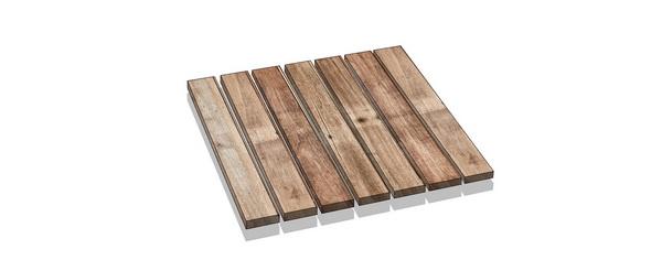 mái ván gỗ