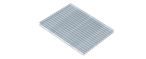mái nhà tấm poly carbonat