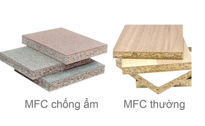 mfc wood types