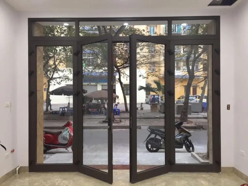 khung cửa ra vào bằng nhôm hệ 55