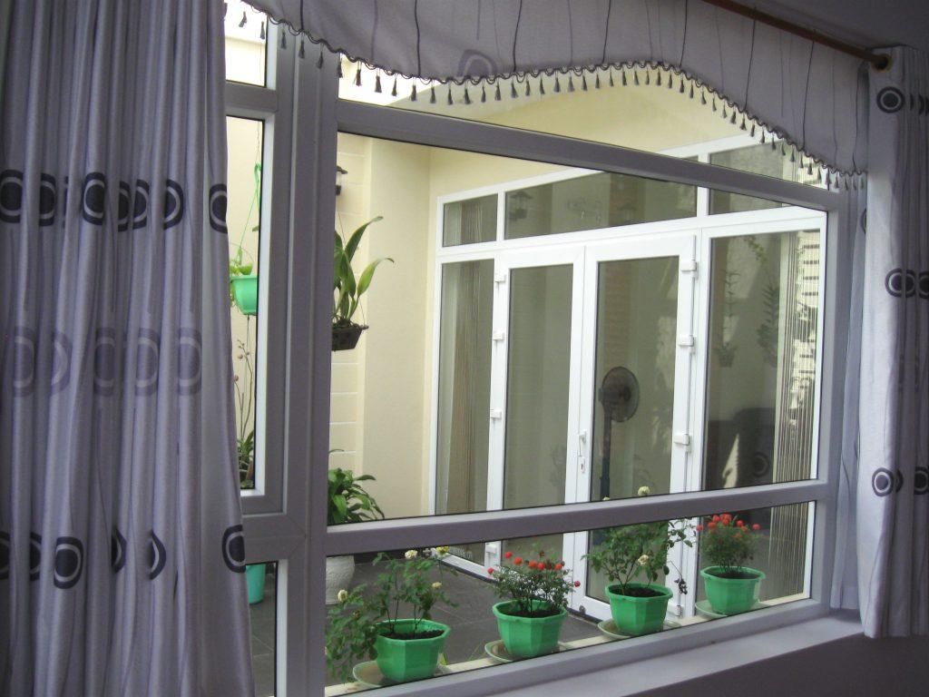 khung cửa sổ bằng nhôm hệ 55