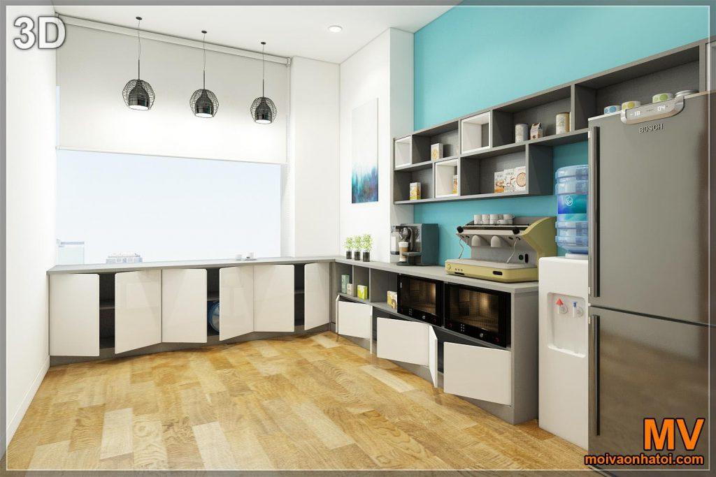 รับออกแบบตกแต่งภายในห้องรับประทานอาหาร 3d ห้องทำงานสำนักงานตู้กับข้าว