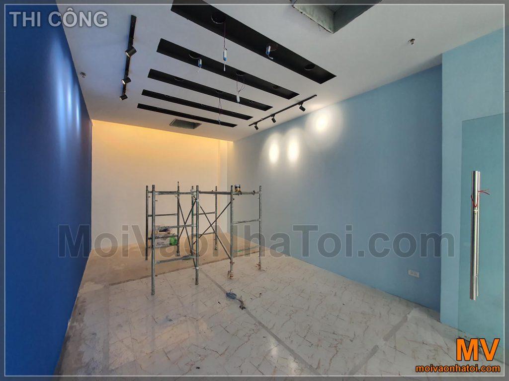 Processo di costruzione della sala riunioni