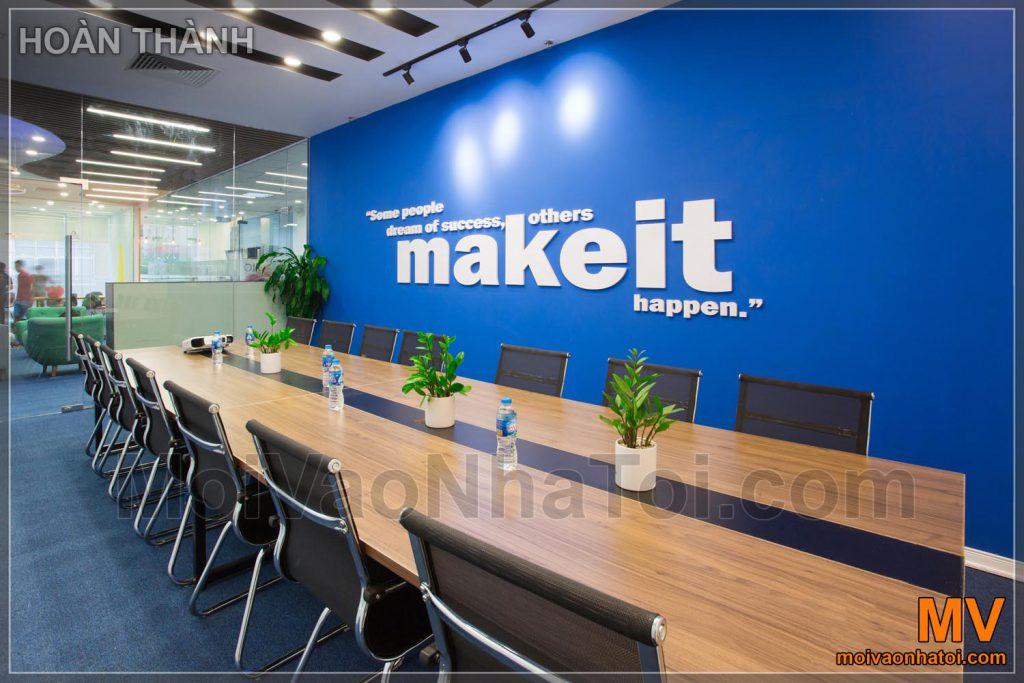 ห้องประชุมขององค์กรที่สวยงาม