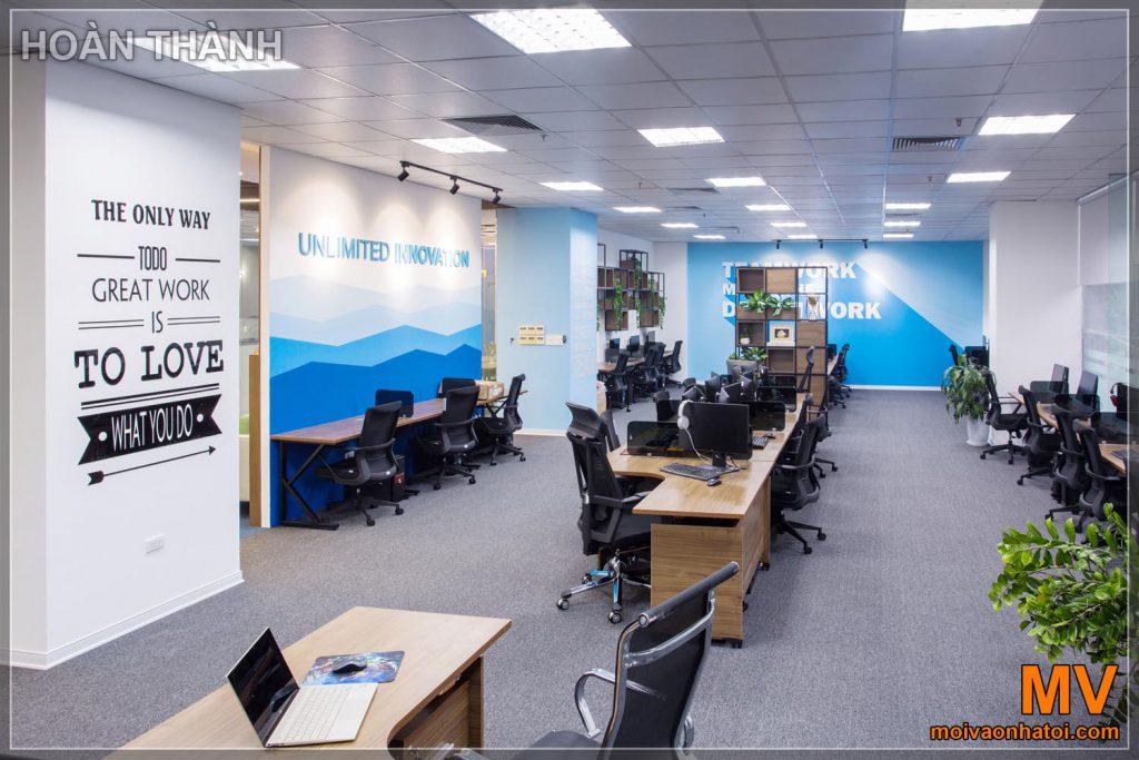 Interior design dell'ufficio