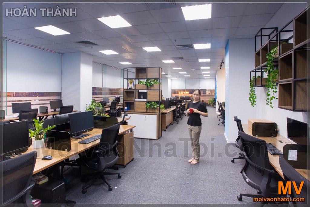Lavoro d'ufficio dell'azienda di software