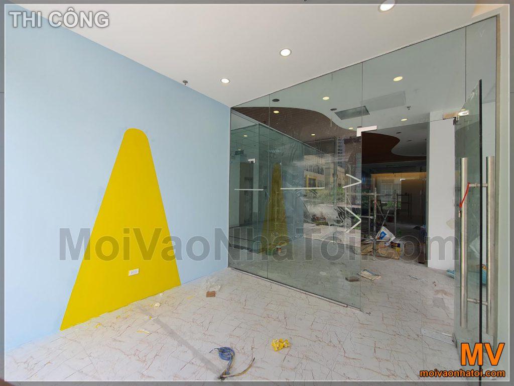 Побудова офісних меблів з декоративними фарбовими наборами