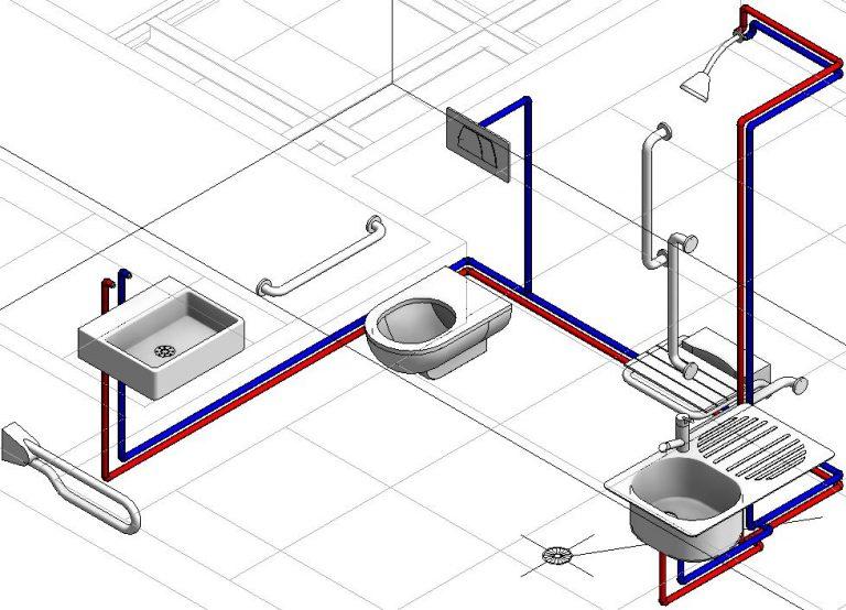 lắp đặt hệ thống nước hợp lý