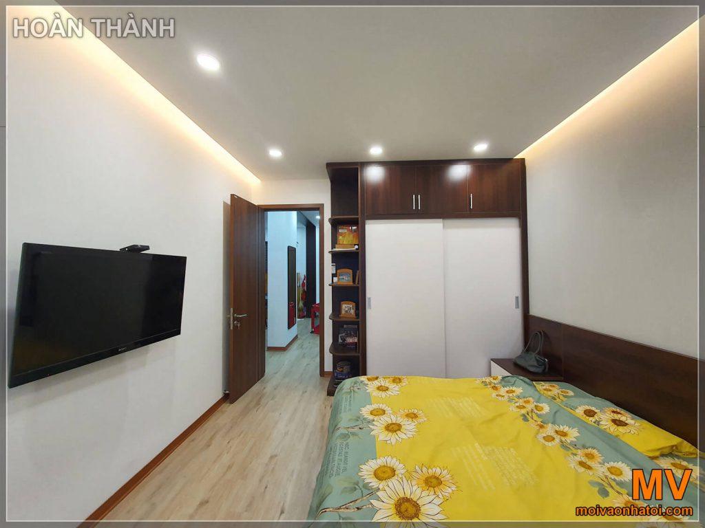 Hoàn thành phòng ngủ master chung cư
