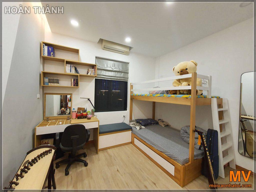 Hoàn thiện phòng ngủ con chung cư