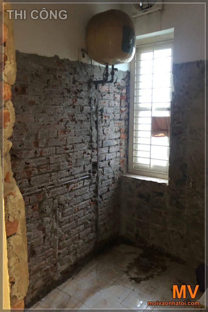 thi công phòng vệ sinh chung cư cũ