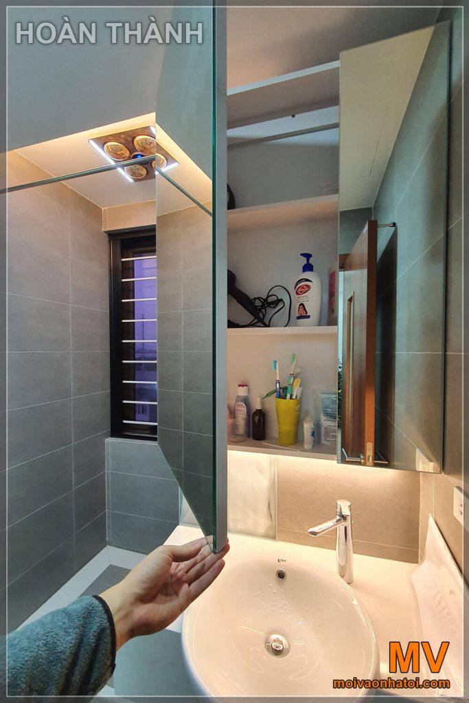 hoàn thành phòng vệ sinh chung cư cũ