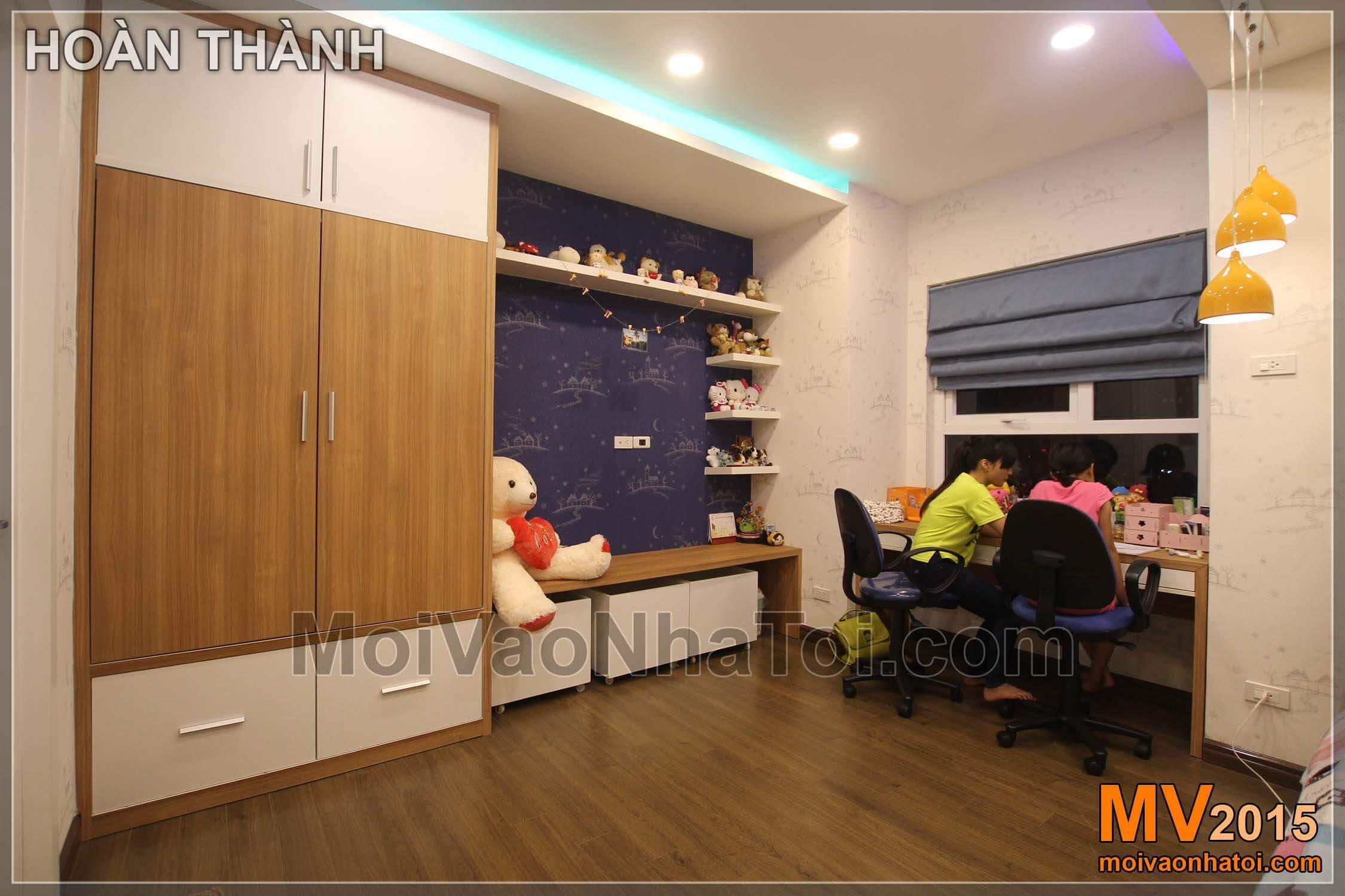 转角衣柜,课桌,公寓Golden Palace 140m2