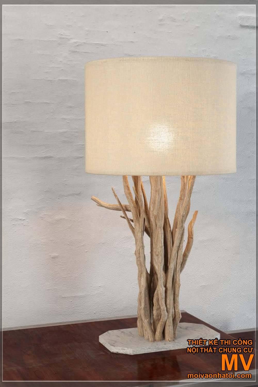 đèn để bàn trang trí handmade
