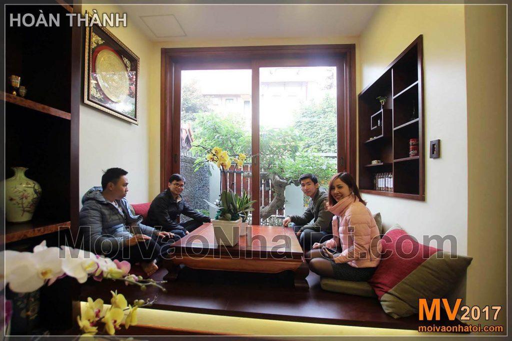 พื้นที่ดื่มชา Viet Hung Villa