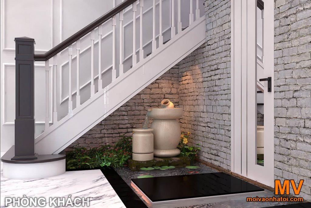 biệt thự tân cổ điển mái thái 2 tầng