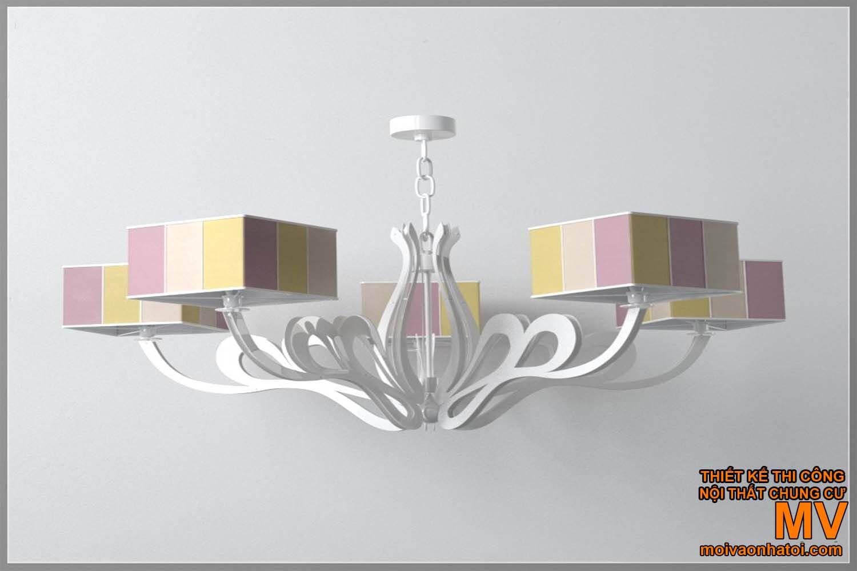 Đèn chùm trang trí phòng khách