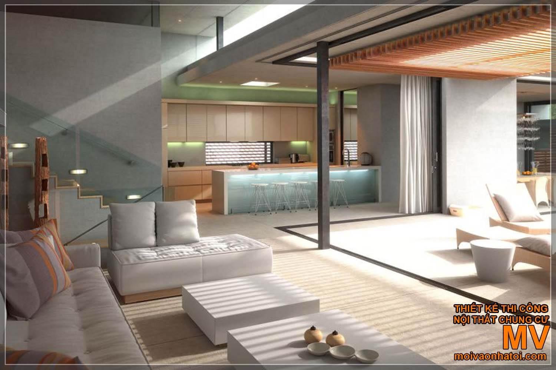 thiết kế nhà penthouses