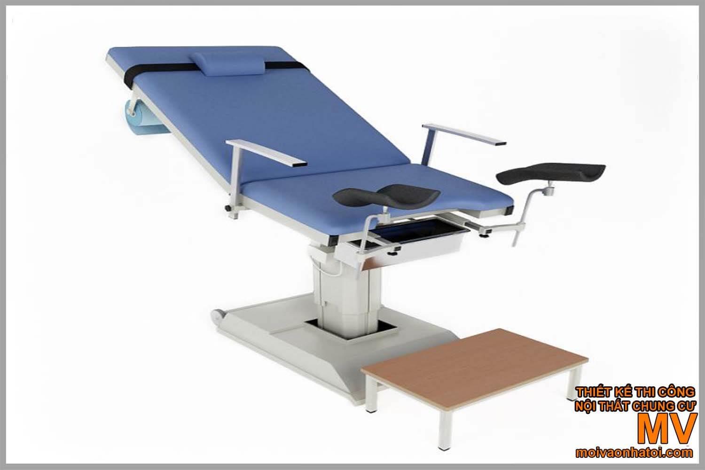 เครื่องจักรตัวอย่างโรงพยาบาลตกแต่งภายในเตียง